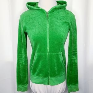 JUICY COUTURE Fitted Terrycloth Hoodie